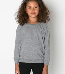 RSATR194 American Apparel Kids' Tri-Blend Raglan Pullover