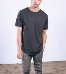 MC1050 Cotton Heritage Drop Tail Crew Neck T-shirt