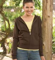 Monster Fleece™ Ladies' Fitted Raglan Full Zip Sweatshirt