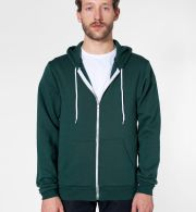F497 American Apparel Flex Fleece Zip Hoody