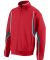 7711 Augusta Adult Cross Weave Red/ Slate/ White