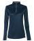 Badger Sportswear 4103 B-Core Women's Quarter-Zip Navy/ Graphite