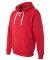 J. America - Sport Lace Hooded Sweatshirt - 8830 Red