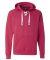 J. America - Sport Lace Hooded Sweatshirt - 8830 Wildberry