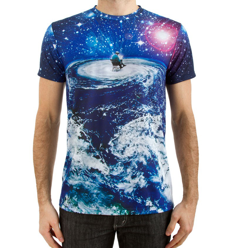 Sublimation for 4 color process t shirt printing